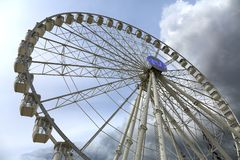 Free Marseille, Provence, France - 1 May 2018: Ferris Wheel In Marseille. Old Port In Marseille Stock Photography - 161221642