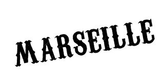Marseille rubber stamp. Grunge design with dust scratches. Effects can be easily removed for a clean, crisp look. Color is easily changed Royalty Free Stock Images