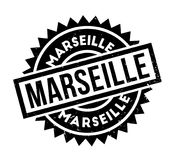 Marseille rubber stamp. Grunge design with dust scratches. Effects can be easily removed for a clean, crisp look. Color is easily changed Royalty Free Stock Photos