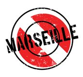 Marseille rubber stamp. Grunge design with dust scratches. Effects can be easily removed for a clean, crisp look. Color is easily changed Royalty Free Stock Photo