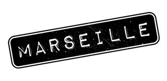 Marseille rubber stamp Stock Photography