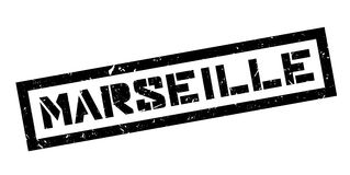 Marseille rubber stamp Stock Photo