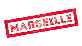 Marseille rubber stamp Royalty Free Stock Photography