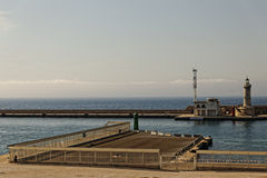Marseille schronienie - latarnia morska Obraz Stock