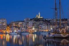 Marseille - söder av Frankrike Arkivfoton