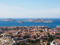 Marseille and sea Stock Photo
