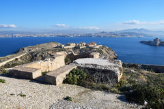 Free Marseille Seen From Du Frioul Island Stock Photography - 93111392