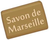 Marseille-Seife stock abbildung