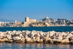 Marseille sikt Arkivbilder