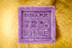 Marseille soap Stock Images