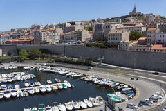Marseille - South of France. The city of Marseille in the Cote d'Azur region of the South of France Stock Photography