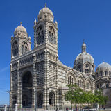 Marseille - South of France. The Cathedral de la Major in the city of Marseille in the South of France. This Neo-Byzantine cathedral is the largest 19th Century Royalty Free Stock Image
