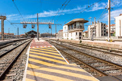 Marseille St. Charles railway station Royalty Free Stock Images