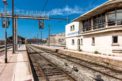 Marseille St. Charles railway station Stock Photo