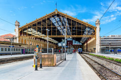 Marseille St. Charles railway station Royalty Free Stock Photo