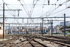 Marseille St. Charles railway station Royalty Free Stock Photos
