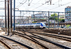 Marseille St. Charles railway station Royalty Free Stock Image