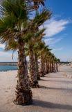 Marseille-Strand Stockfoto