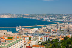 Marseille at a summer day Royalty Free Stock Photos