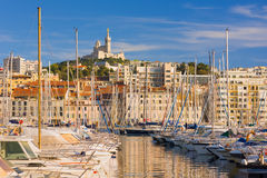 Marseille in a summer sunny evening Stock Image