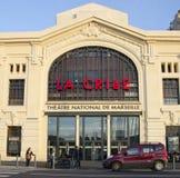 Marseille Theatre Obraz Stock