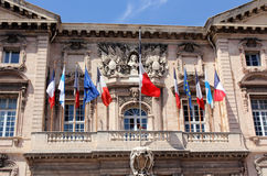 Marseille Town hall Stock Photo