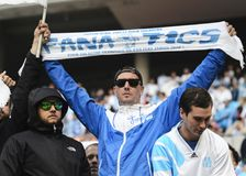 Marseille ultras Royalty Free Stock Image