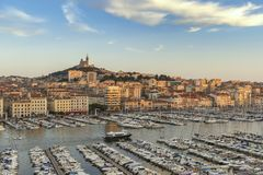 Free Marseille Vieux Port France Royalty Free Stock Image - 123096946