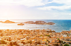 Marseille View Royalty Free Stock Image