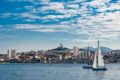 Marseille view stock image