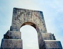 Marseille War Memorial Detail Royalty Free Stock Images