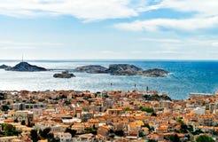 Marseille widok Zdjęcia Stock