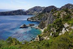 Marseille widok na ocean Fotografia Stock