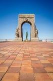 Marseille Wojenny pomnik zdjęcie stock