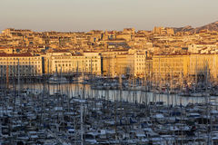 Marseilles in the afternoon Stock Images