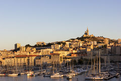 Marseilles in the afternoon Royalty Free Stock Photo
