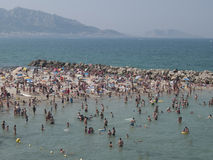 Marseilles Beach. In Southern France Stock Photography