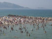 Marseilles Beach Stock Photography