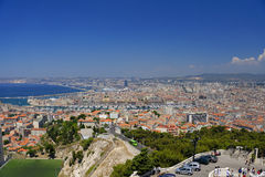 Marseilles city Royalty Free Stock Photos