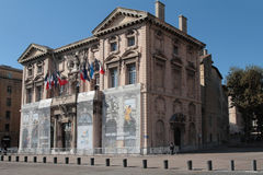 Marseilles City Hall Stock Image