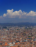 Marseilles cityscape Royalty Free Stock Photo