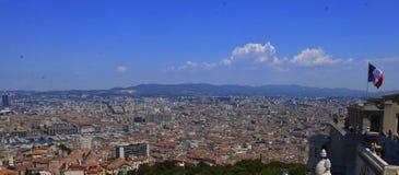 Marseilles cityscape Royalty Free Stock Photos