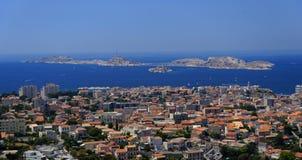 Marseilles cityscape Stock Image