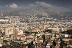 Marseilles Cityscape, Provence Stock Images
