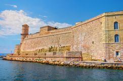 Marseilles-Fort St-Jean-4 Royalty Free Stock Photography