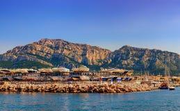 Marseilles-Pointe Rouge Harbor royalty free stock photos