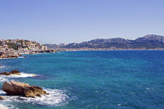 Marseilles, France, S-E sector Royalty Free Stock Images