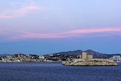 Marseilles in France Royalty Free Stock Images