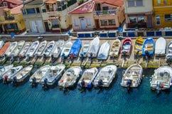 Marseilles Harbor Yachts Stock Photos