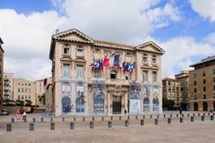 Marseilles Hetel de Ville Stock Photography